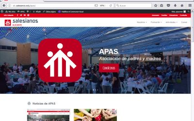 APAS también estrena WEB