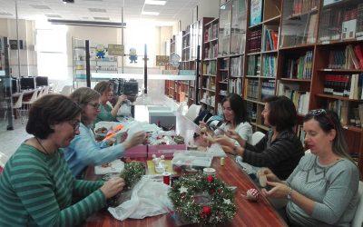 Taller navideño SOS Siria