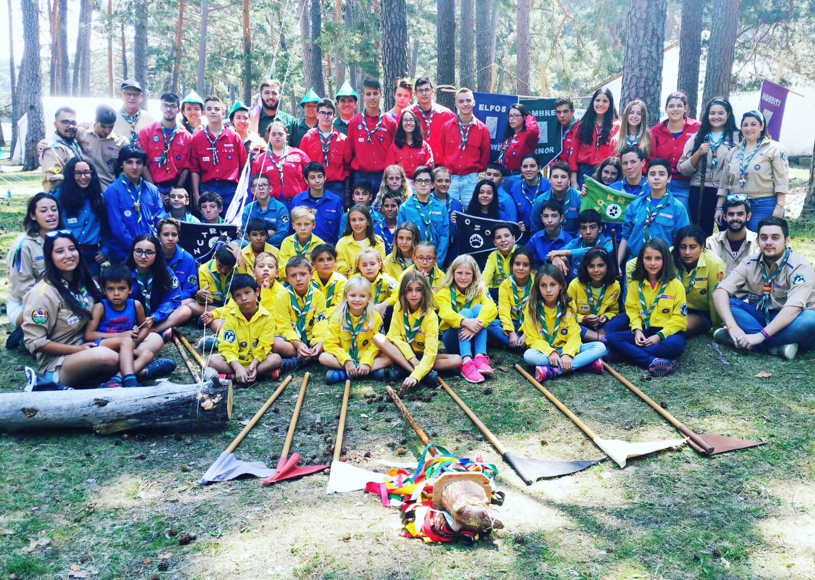 El grupo Scout Impeesa sale de campamento