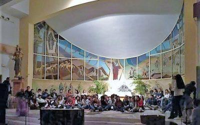 Tarde de oración en la casa salesiana de Alicante
