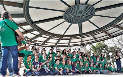 Festival de la canción scout en el dia de su Patrono en San Vicente del Raspeig