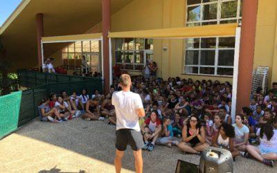Los chicos  y chicas del CJS Tucumán 7 salen de campamento