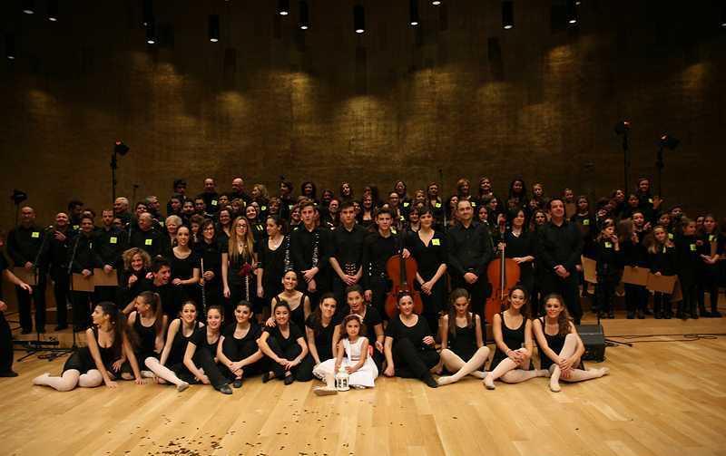 Concierto del coro Don Bosco 100 celebrado en el auditorio ADDA de la diputación con motivo del centenario de los Salesianos en Alicante