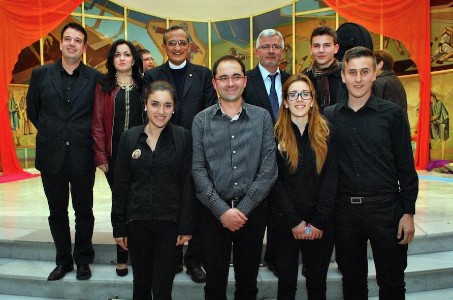 Visita de D. Pascual Chávez, rector mayor de los Salesianos, a Alicante
