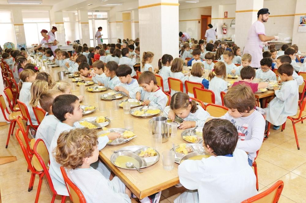 Comedor de 4 y 5 años