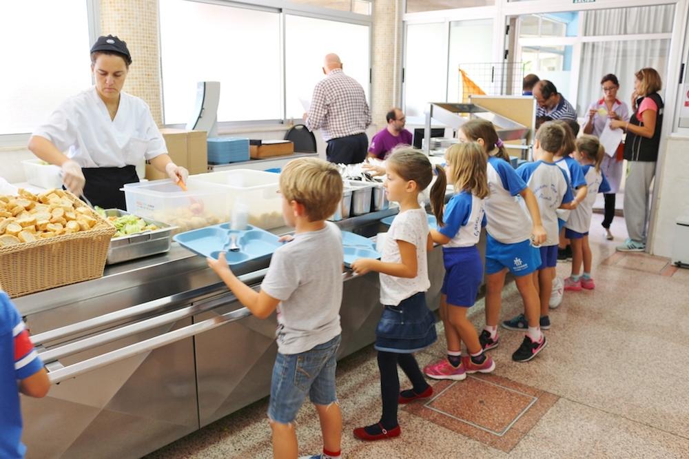 Servicio de comedor escolar | Colegio Salesiano Don Bosco Alicante