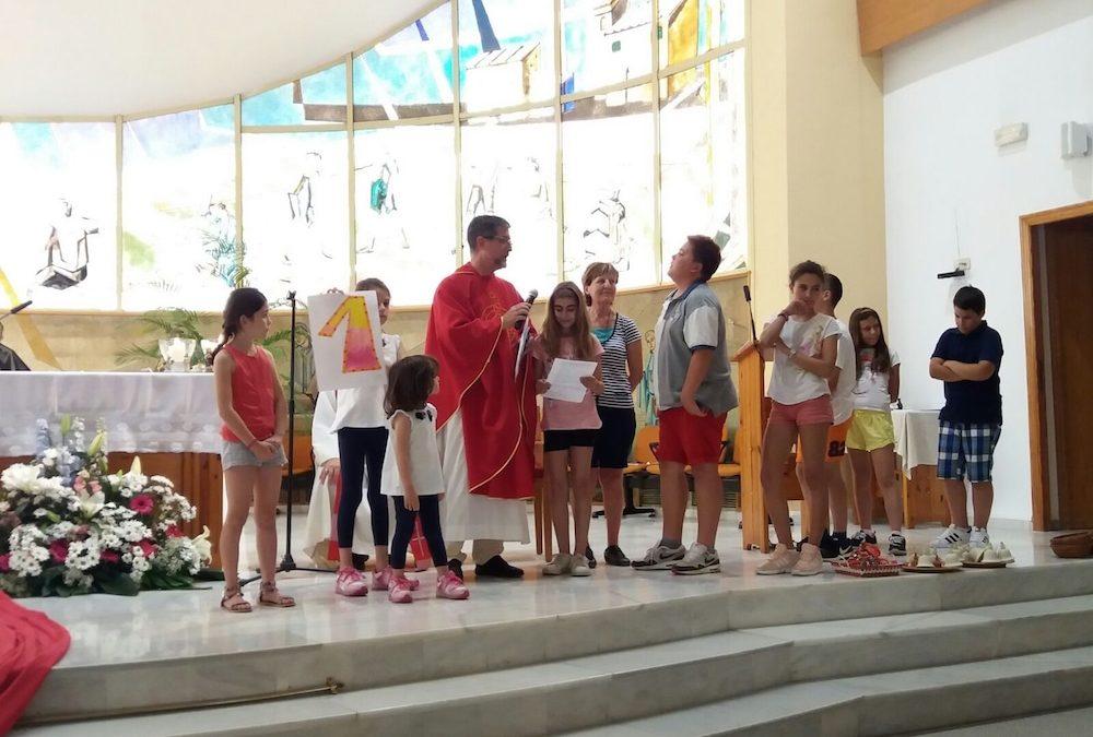 Comenzamos las misas en el colegio