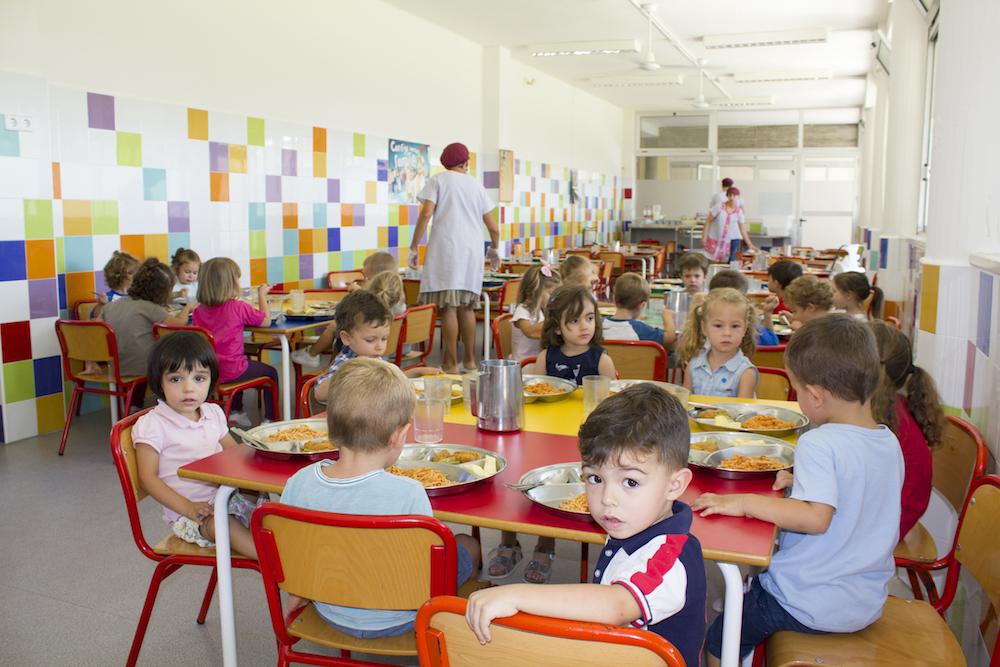 Comedor de 3 años