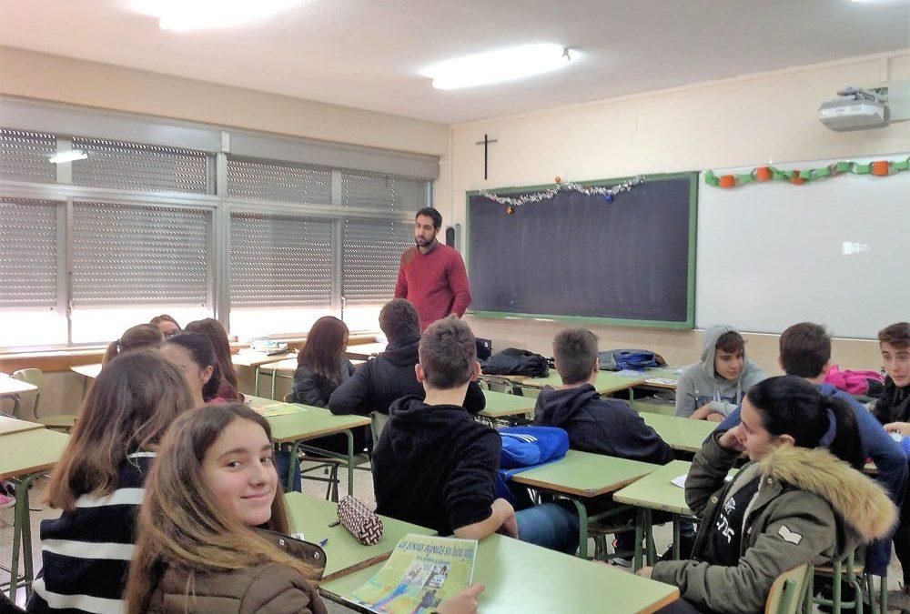 Los alumnos de Secundaria realizan un taller llamado Asti