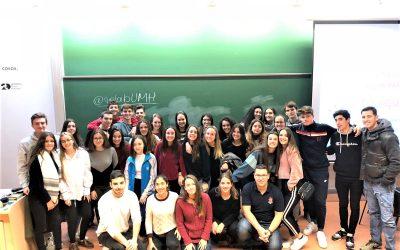 Visita a la Universidad Miguel Hernàndez