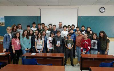 El passat 17 d'abril ens va visitar Francesc Gisbert, autor de Misteris S.L., obra llegida pels alumnes de 1r ESO.