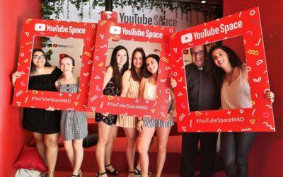 Alumnas de Primero de bachillerato, finalistas en Youtube Space