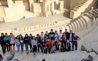 Salida cultural de los alumnos de Bachillerato-Humanidades a Sagunto