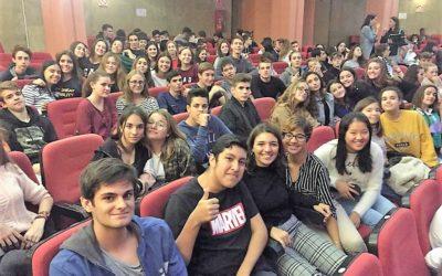 La Casa de Bernarda Alba a la que asisten chicos y chicas de 4º de ESO