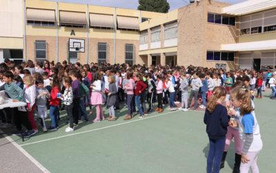 Almuerzo solidario en Educación Primaria