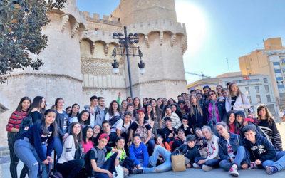 Intercambio cultural con alumnos de Roma