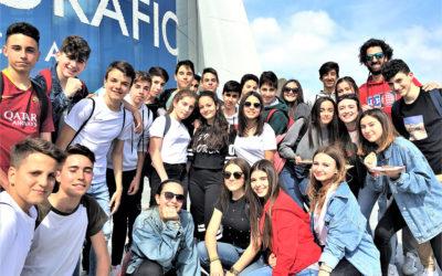 Los alumnos de 3ºESO,  disfrutando de su salida cultural a Valencia.
