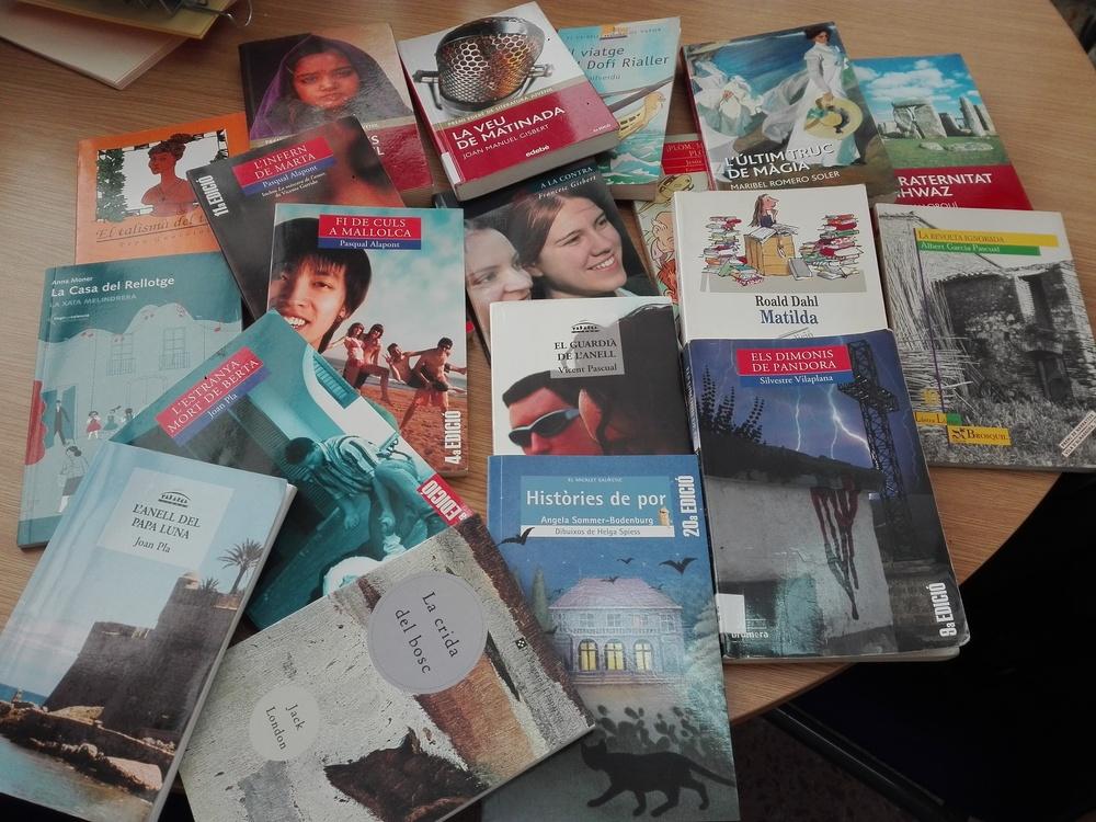 Libros «en préstamo» para alumnos de Secundaria