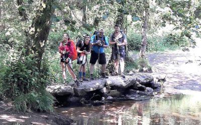 Los peregrinos recorren su 5ª Etapa en este 14 de junio: 28 kilómetros