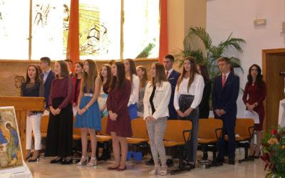 Confirmaciones en la Iglesia del colegio Don Bosco de Alicante