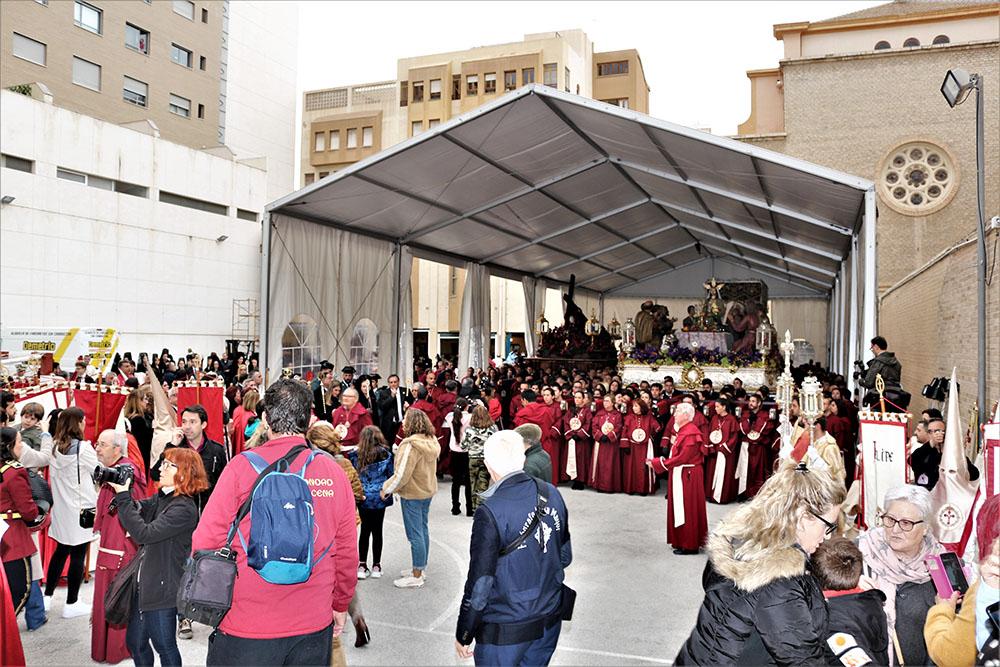 Las Hermandades de la Santa Cena y la Redención suspenden su salida en procesión por el riesgo de lluvia fuerte