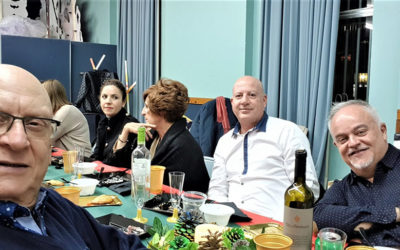 Cena de Navidad de la Hoguera Don Bosco.