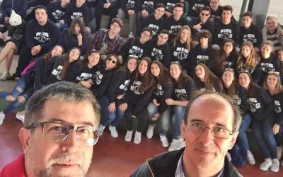 El colegio salesiano de Villena nos visita