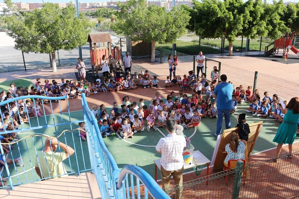 Celebración de bienvenida en Infantil