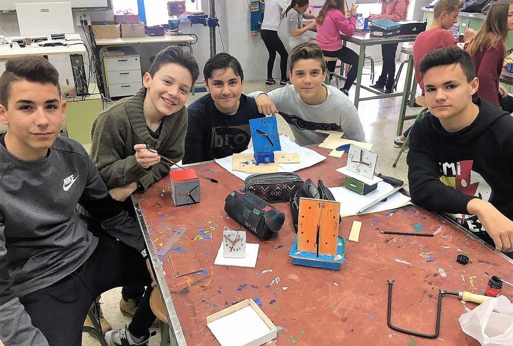 Proyectos de los alumnos de ESO en el área de Pretecnología
