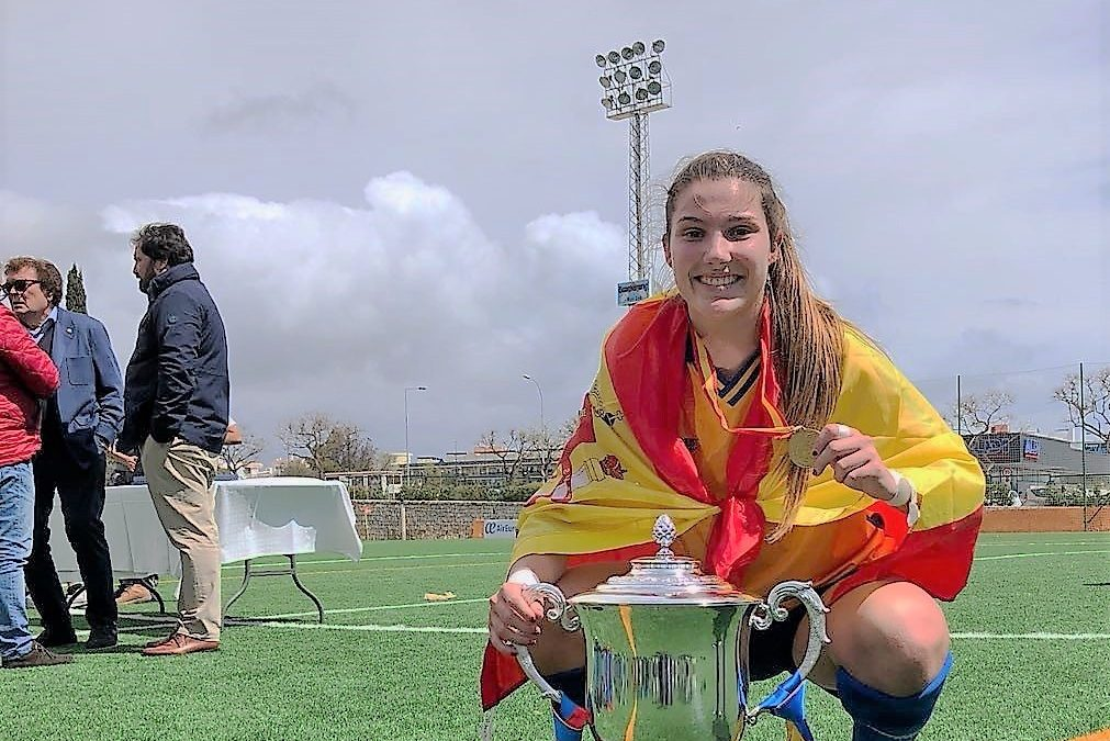 María Jiménez, campeona de España