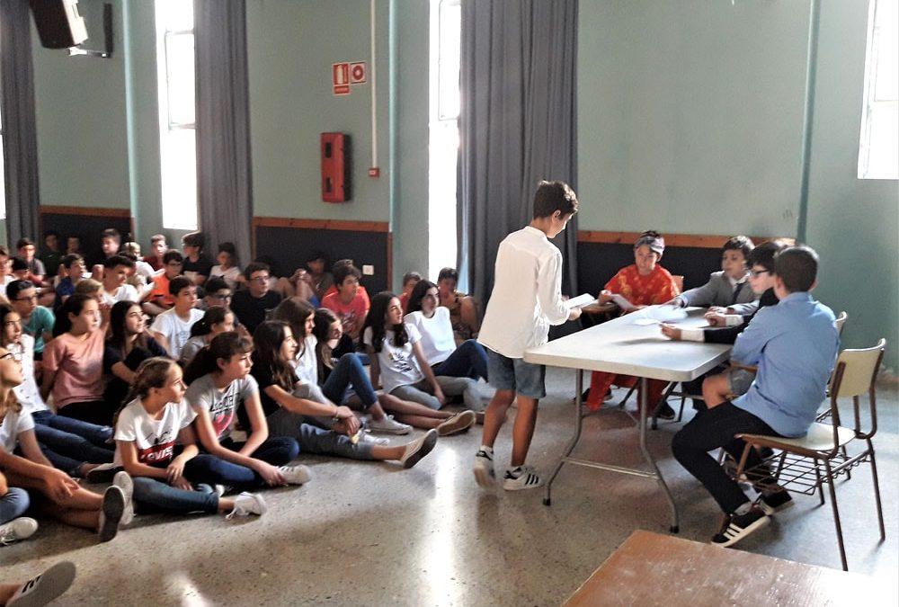 Los alumnos de 1º ESO producen sus propias piezas teatrales en las clases de Lengua