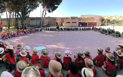 Doble celebración en Infantil por el final de curso; entrega diplomas por Proyectos