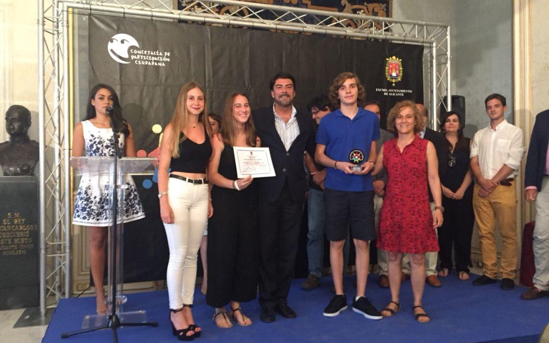 Proyecto APS premiado con el 5º premio de Participación Ciudadana
