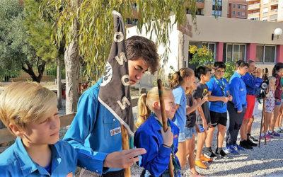 En la mañana del 6 de octubre el Grupo Scout Impeesa ha comenzado su Ronda Solar 18-19