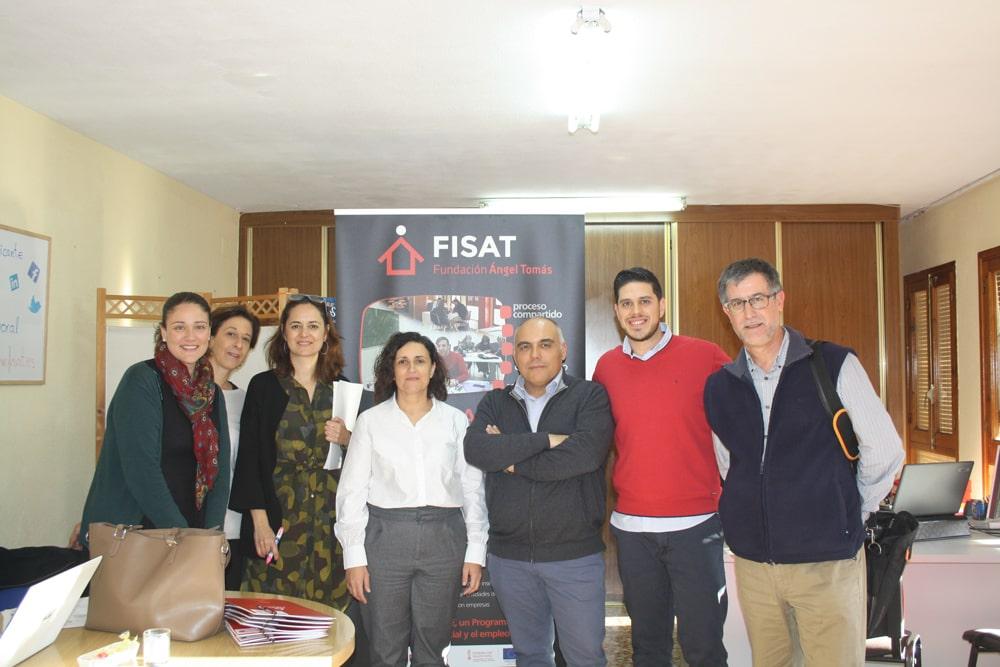 """""""Somos Parte Alicante"""" recibe la visita de la Directora de inclusión social, Inma Carda"""