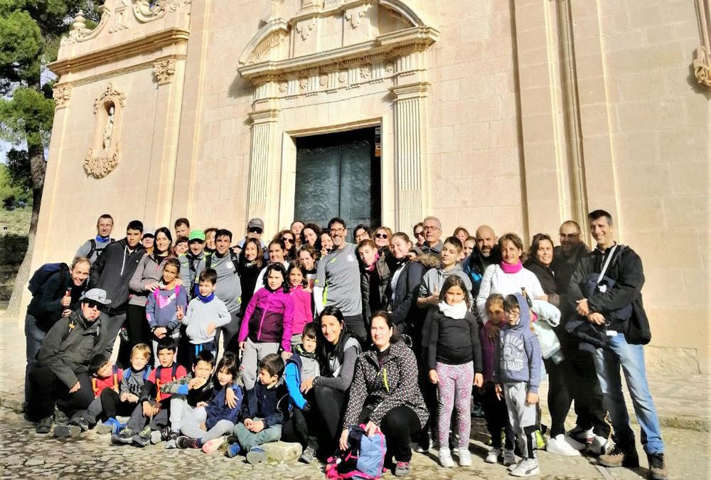 El Club Deportivo Salesianos con el senderismo