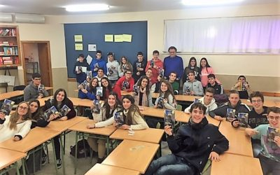 Los alumnos de 4ºESO disfrutan de un Encuentro literario con el novelista Luis Liante