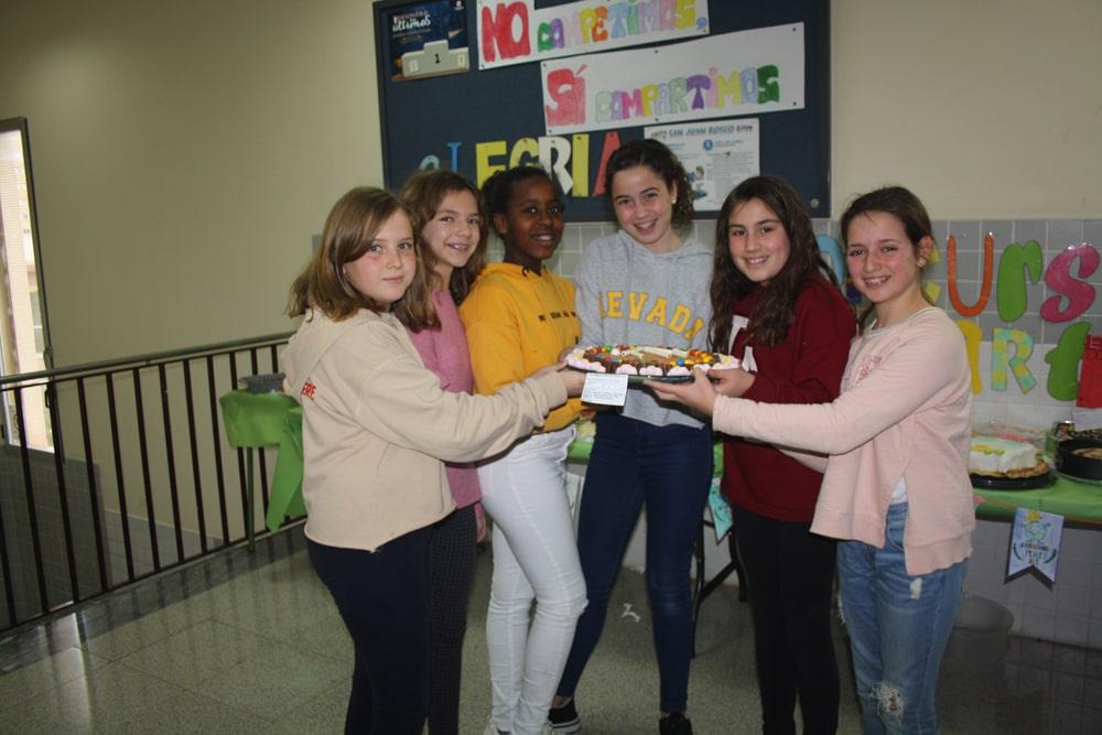 Concurso de tartas en Primaria