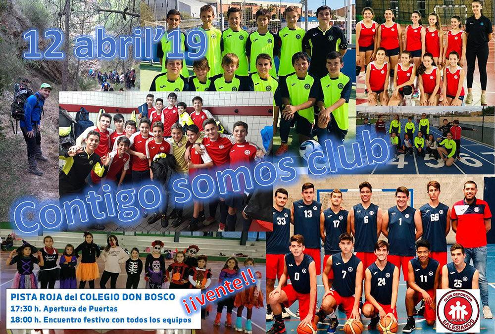 12 de abril: Encuentro  de todos los equipos del Club Deportivo Salesianos
