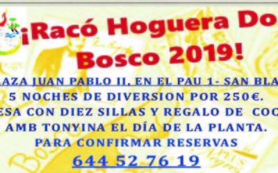 La Hoguera Don Bosco cumple sus 15 años
