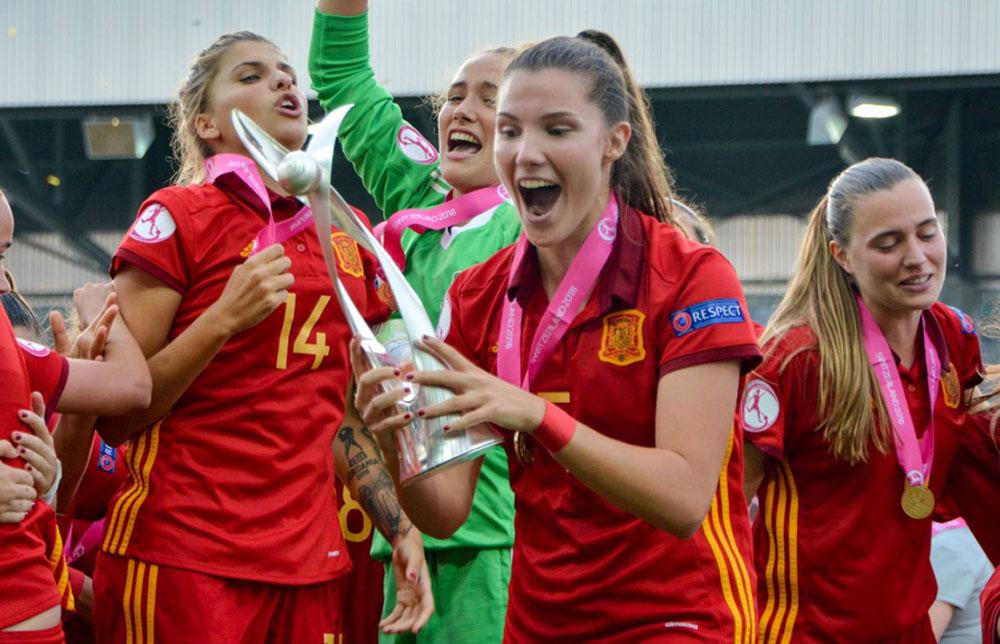 La granota María Jiménez campeona de Europa sub'19