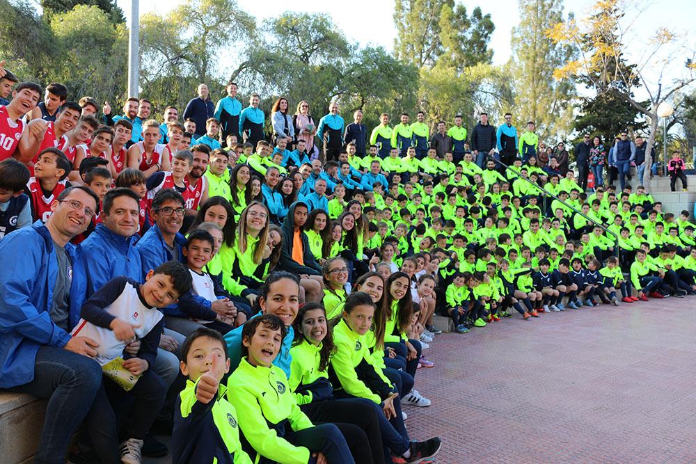 Presentación festiva del CDS (Club Deportivo Salesianos-Alicante)