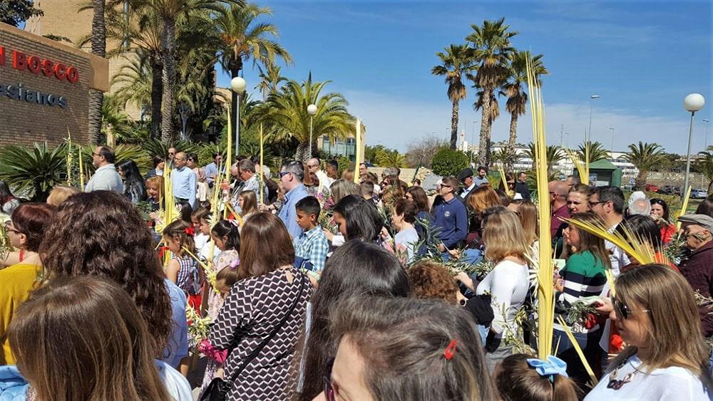 Inauguración de la Semana Santa en el colegio