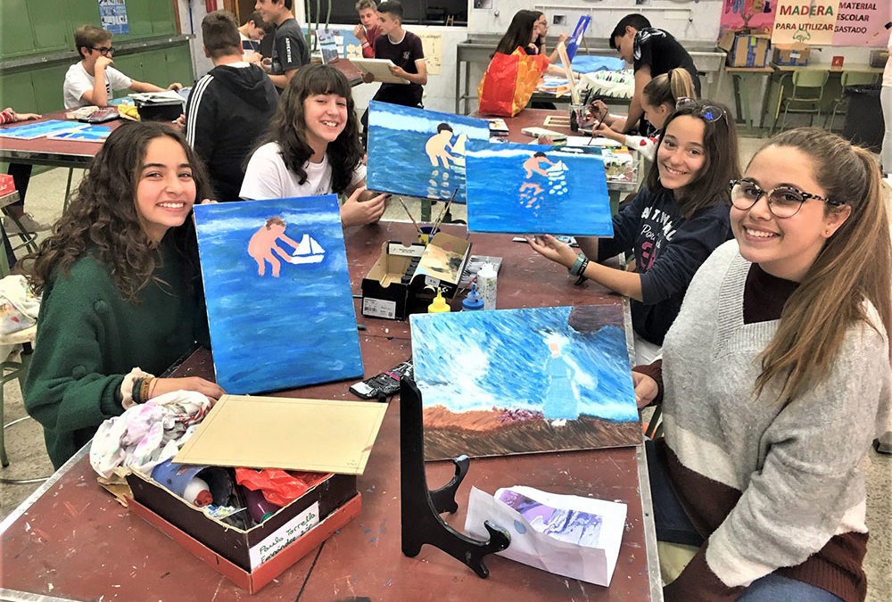 Arts and crafts en la asignatura de Tecnología de 2º de ESO