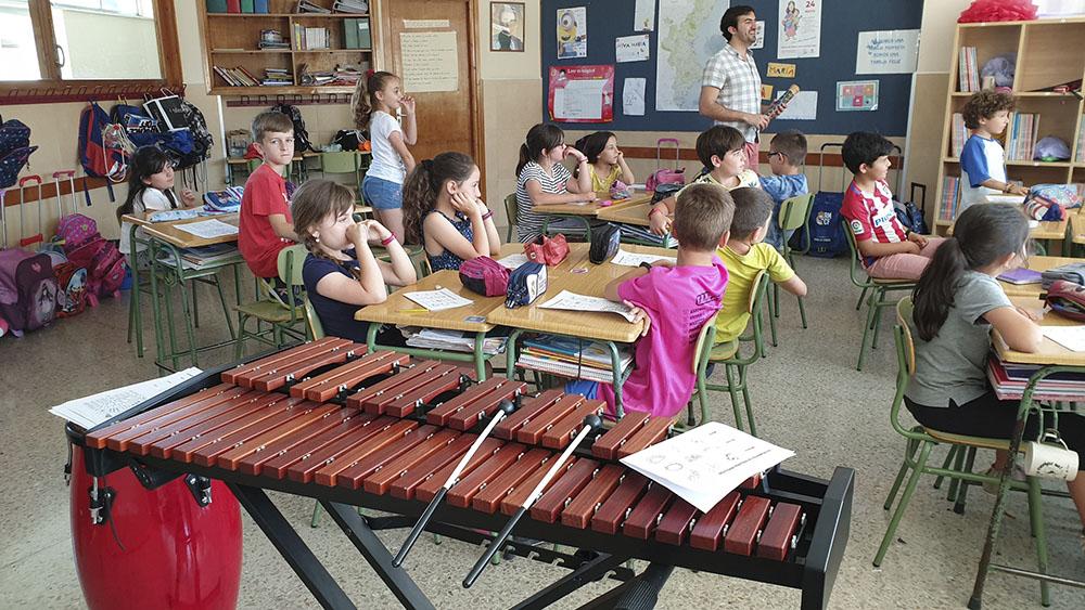 Taller de música ofrecido por la UMCA (Unión musical Ciudad de Asís)