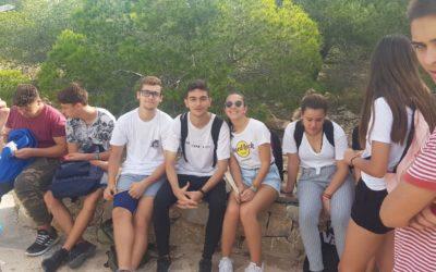Cuarto curso de ESO, de tutoría en Santa Pola