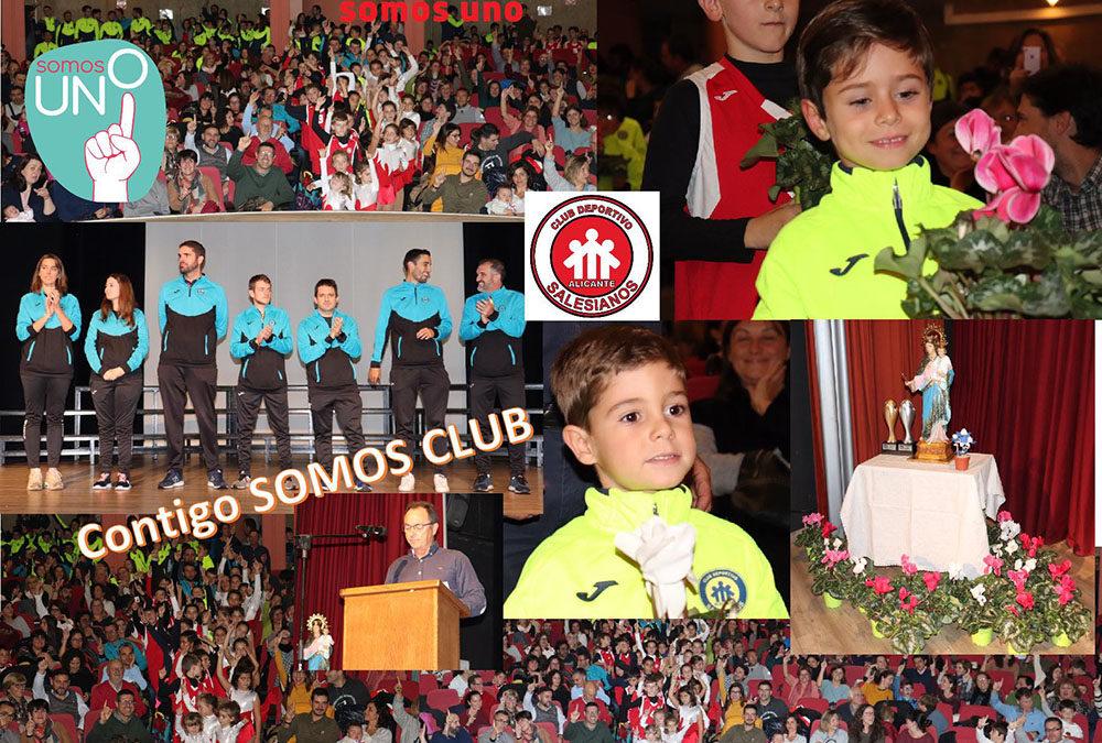 Acto de presentación del Club Deportivo-Salesiano