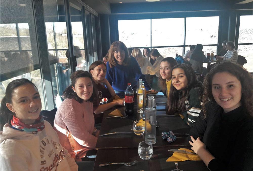 Intercambio cultural con alumnos franceses