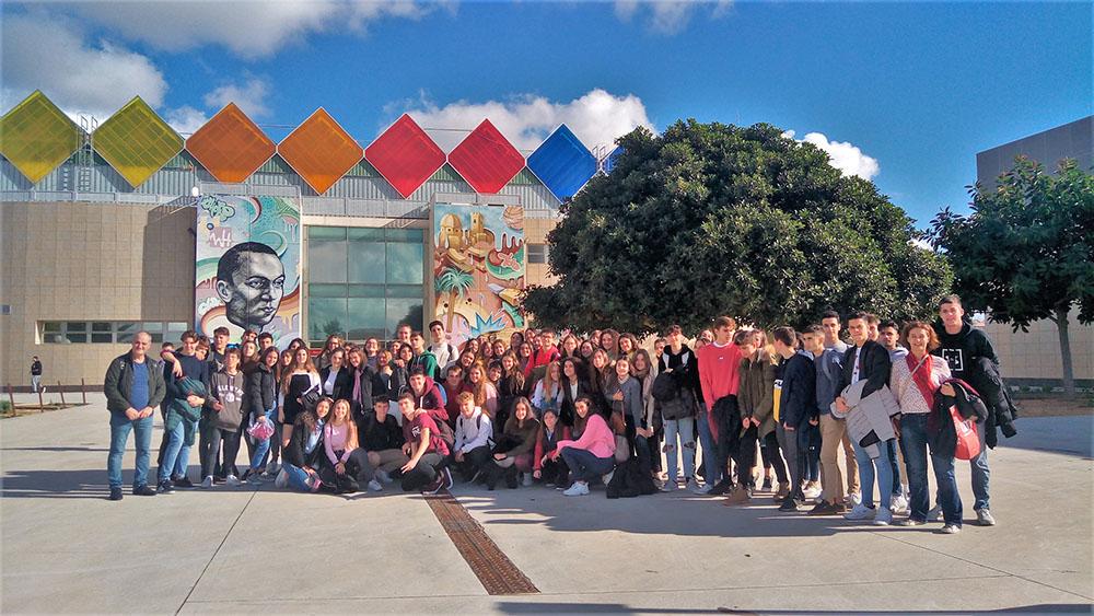 Visita de los alumnos de 1 de Bachillerato al Campus de la Universidad Miguel Hernández de Elche