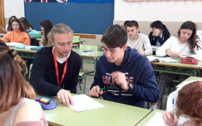 Michael Mulrennan, profesor en prácticas en nuestras aulas de inglés